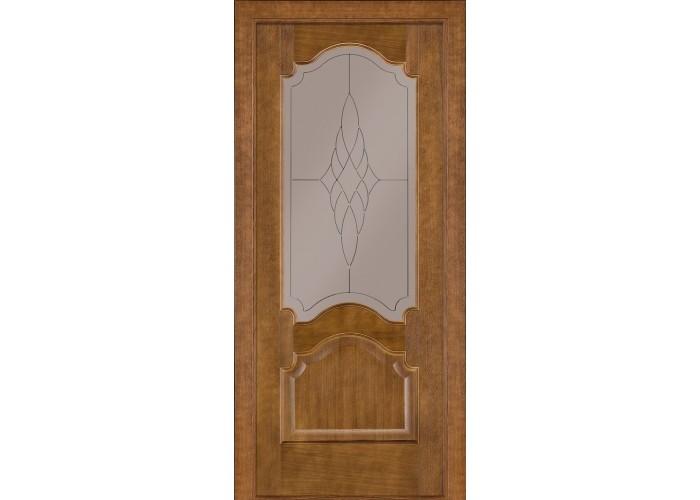 Двери Terminus Classik 08 ПО (Сатиновое стекло Бронза 01)  1