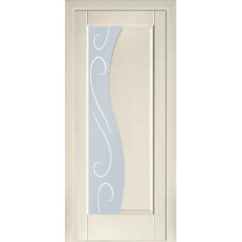 Двери Terminus Modern 16 ПО (Сатиновое стекло рисунок 16)