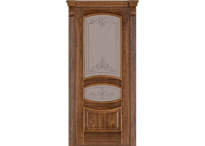 Двери Terminus Caro 50 03.ПО (Сатиновое стекло Бронза рисунок 13)  1