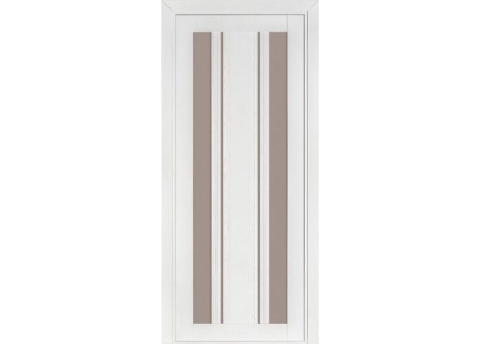 Двери Terminus Fashion Лондон ПО (Сатиновое стекло Бронза)  1