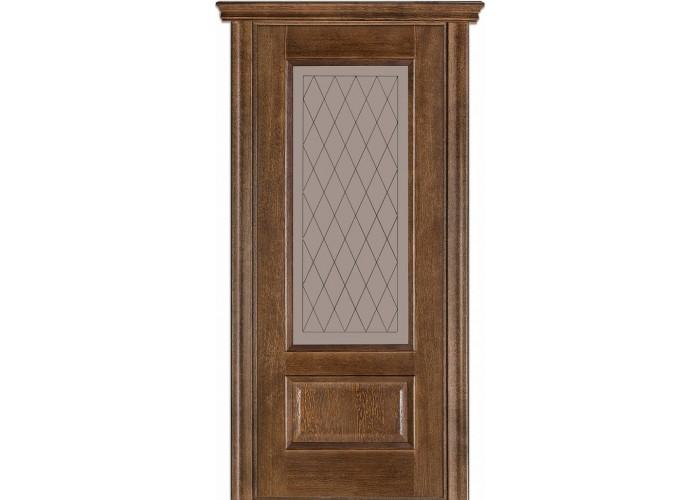 Двери Terminus Caro 52 21.ПО (Сатиновое стекло Бронза рисунок 21)  1