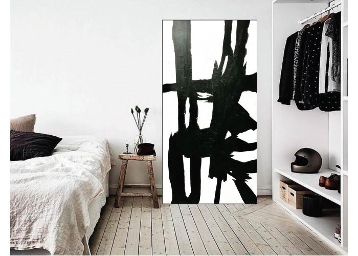 """Интерьерная картина """"Абстракция.Черный""""  1"""