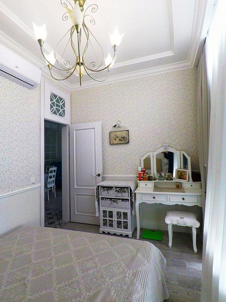 Дизайн интерьера однокомнатной квартиры - спальня