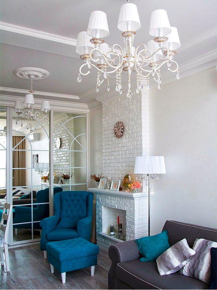 Дизайн однокомнатной квартиры - гостиная