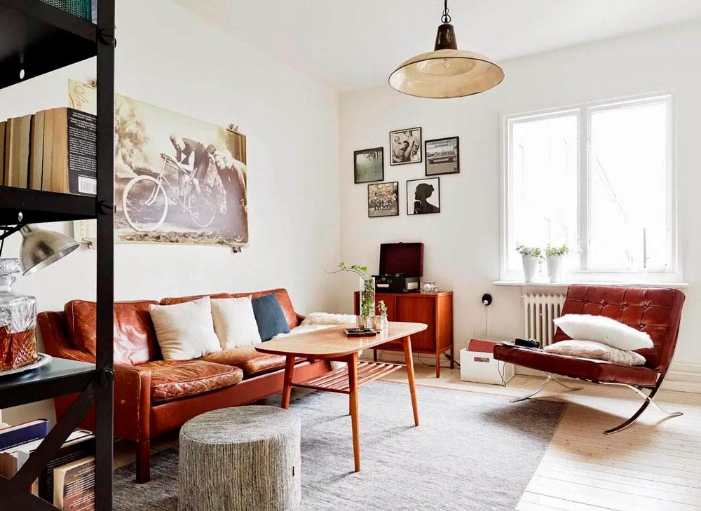 Скандинавский интерьер современной квартиры