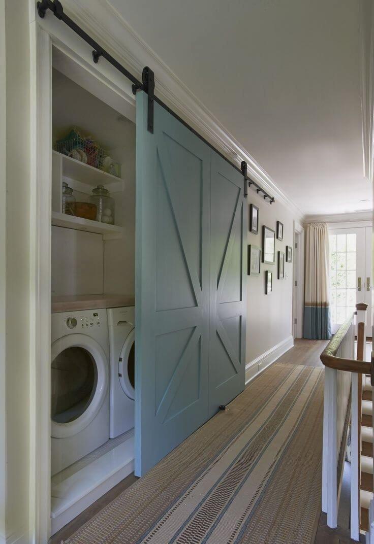 Ваши гости будут очарованы цветом, задаваясь вопросом, какие сокровища прячутся за этой дверью.