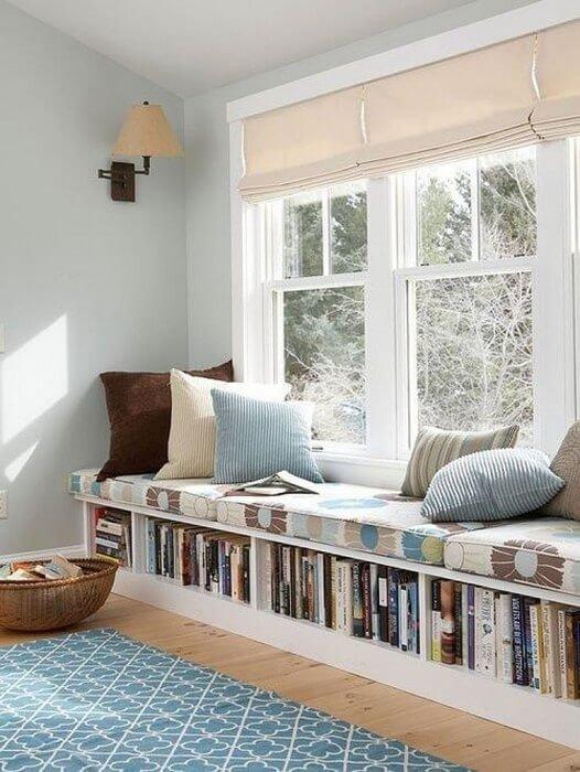 Идеальный вариант для домашней библиотеки – станет любимым местом для книголюба