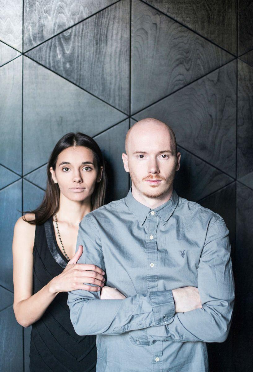 Основатели студии дизайна FILD - Катя и Денис Вахрамеевы