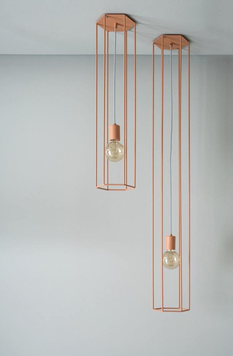 Подвесные светильники Lines выполнены из металла. Доступны в 6 базовых цветах