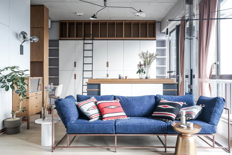 Небольшие компактные апартаменты подкупают своей сдержанностью, собранностью и функциональностью