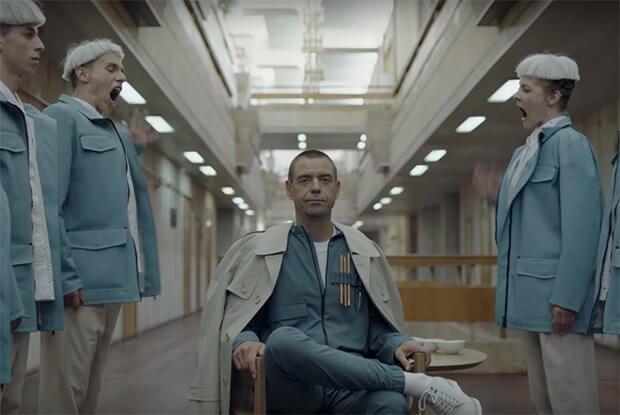 Кадр из клипа DREZDEN Сергея Михалка.