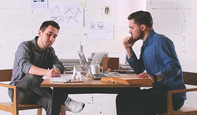 Основатели студии ODESD2 Дмитрий Булгаков и Святослав Зброй.