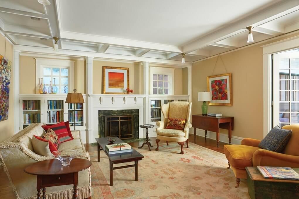 Для дизайна американского дома характерна смелость, выразительность и оригинальность.
