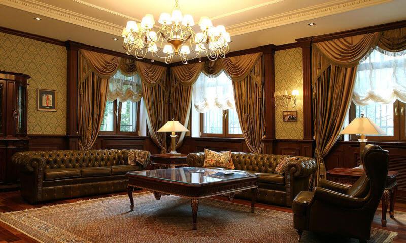 Знаменитый кожаный диван Честер шоколадного оттенка станет не только статуснымпредметом мебели, но и комфортным местом отдыха