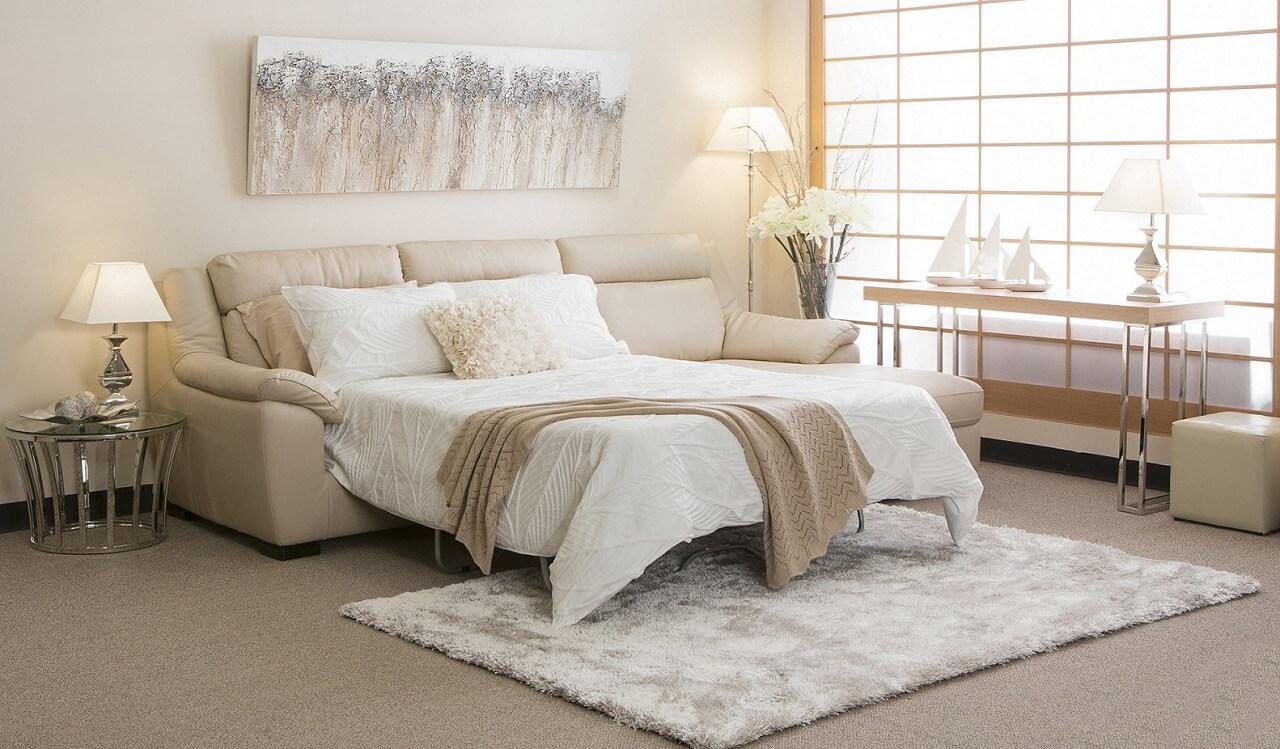 Диван-кровать, диваны с системами хранения и складные столы – все это зародилось еще в 1919 году именно в рамках стиля баухаус