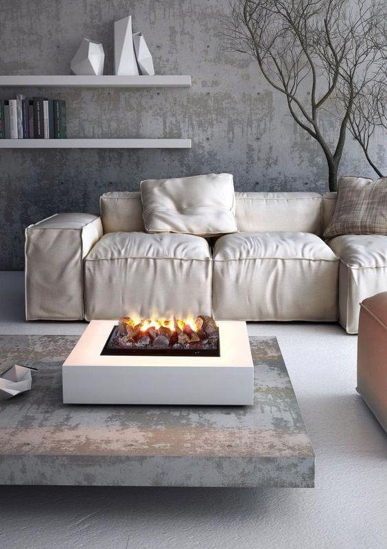 Вариации текстур бетона позволяют остановить свой выбор на максимально практичном варианте.