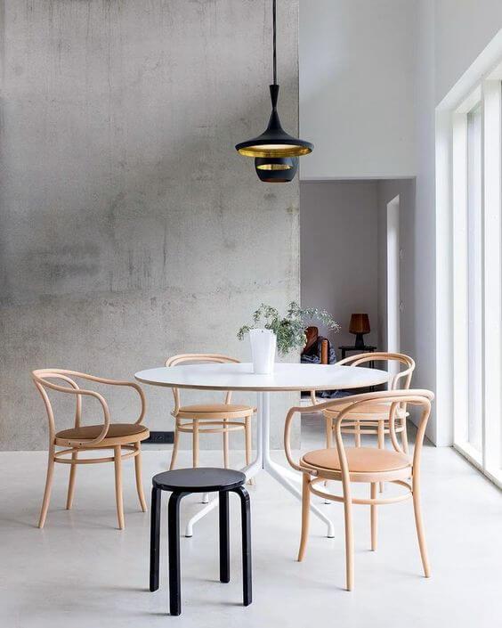 Настенное покрытие из бетона - это выразитнльное и смелое дизайн заявление