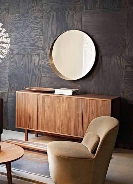 Большая деревянная плитка — это модерный взгляд на классическую деревянную обшивку.