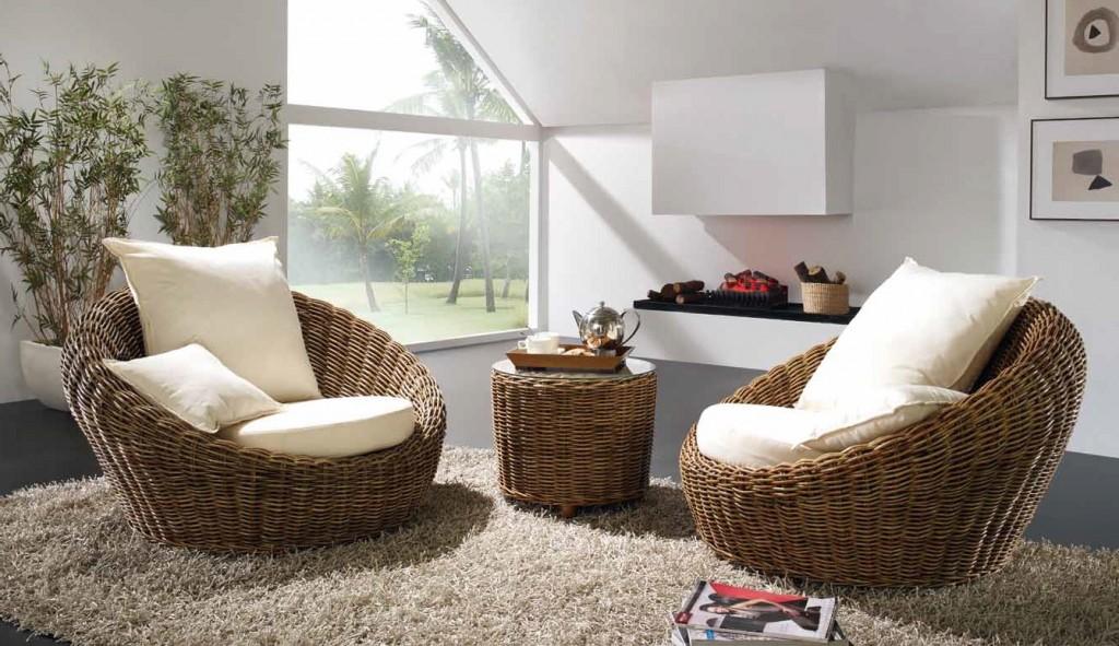 Мебель из натурального ротанга – это приют теплоты и релакса