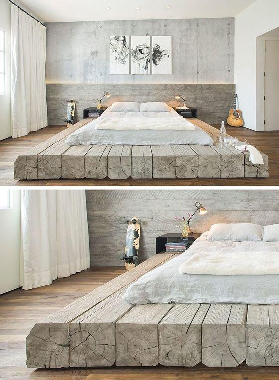 Фото простор и уют в спальне