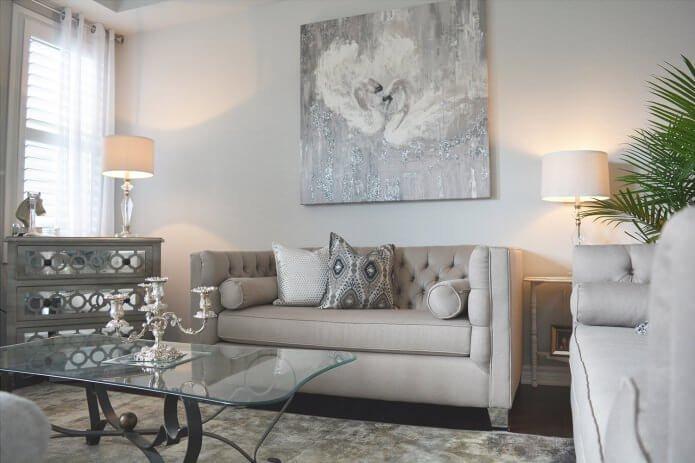 Выберите оттенок, который хорошо сочетается со стилем, созданным в Вашем доме