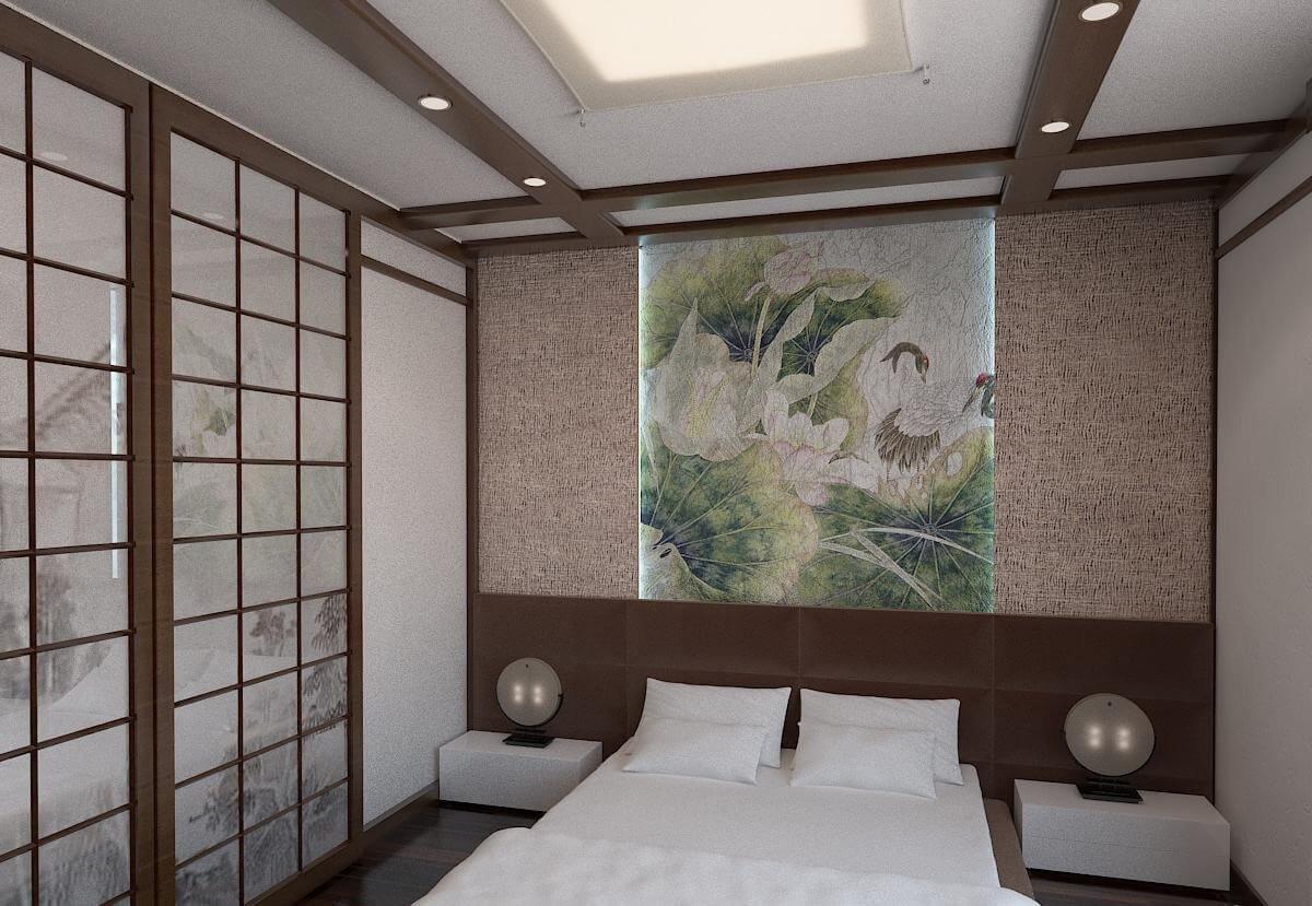 Большая и приземистая кровать