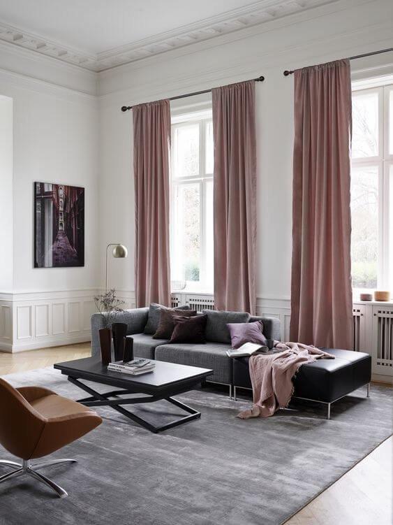 Модульная мебель - это отличное решение дя небольших гостинных.