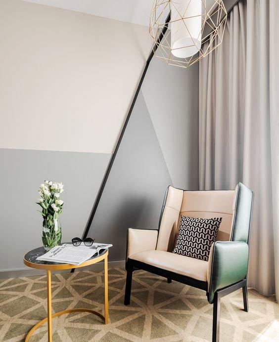 Выбор текстуры, формы и типа кресла во много продиктован стилистикой дизайна.
