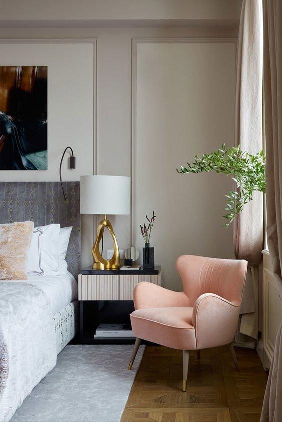 Цветовое разрешение кресла должно выразительно отображать концепцию дизайна.