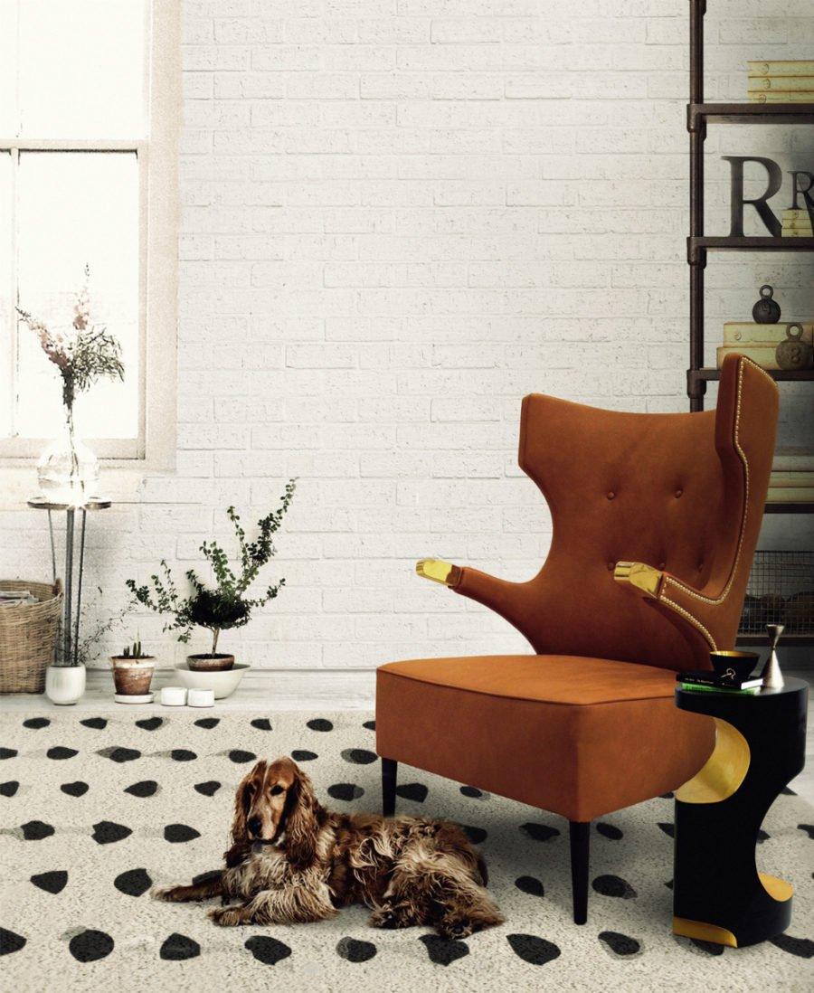 Кресло должно стать заверяющим аккордом дизайна, акцентированной точкой.