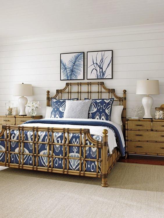 Если вам нравиться такой стиль –обязательно ищите мебель из ротанга.
