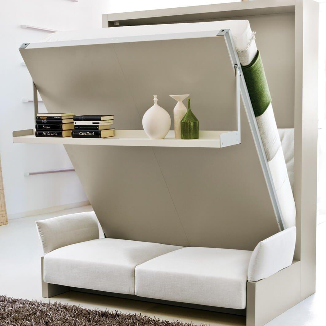 Кровать в шкафу – популярное решения для наших малогабариток