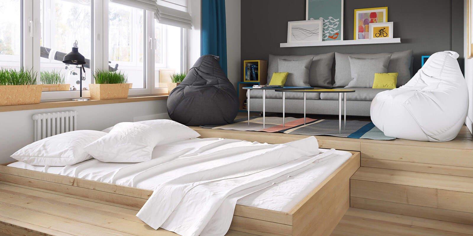 Возраст, предпочтения и образ жизни, должен определять в каком стиле и как будет оформлена кровать