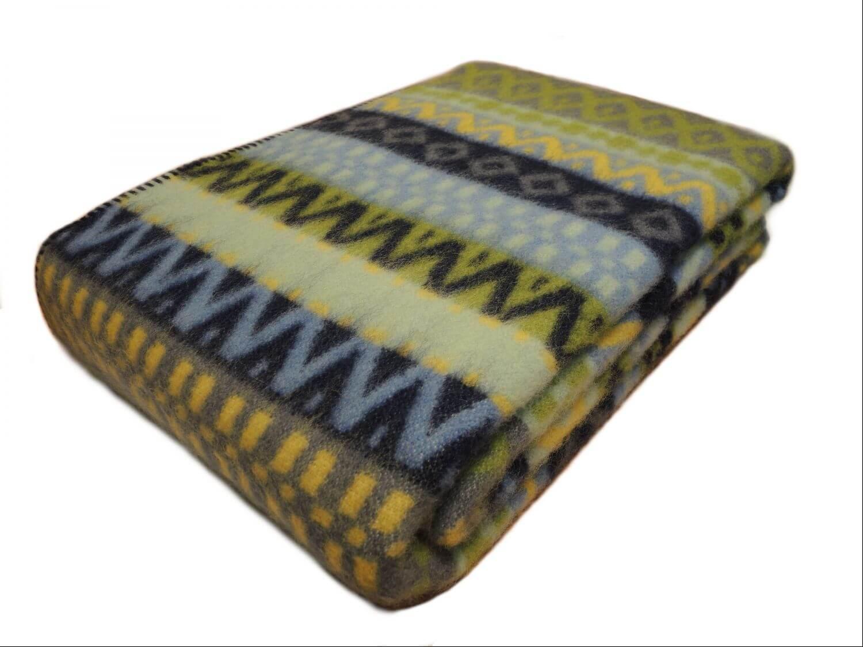 Одеяло шерстяное набивное