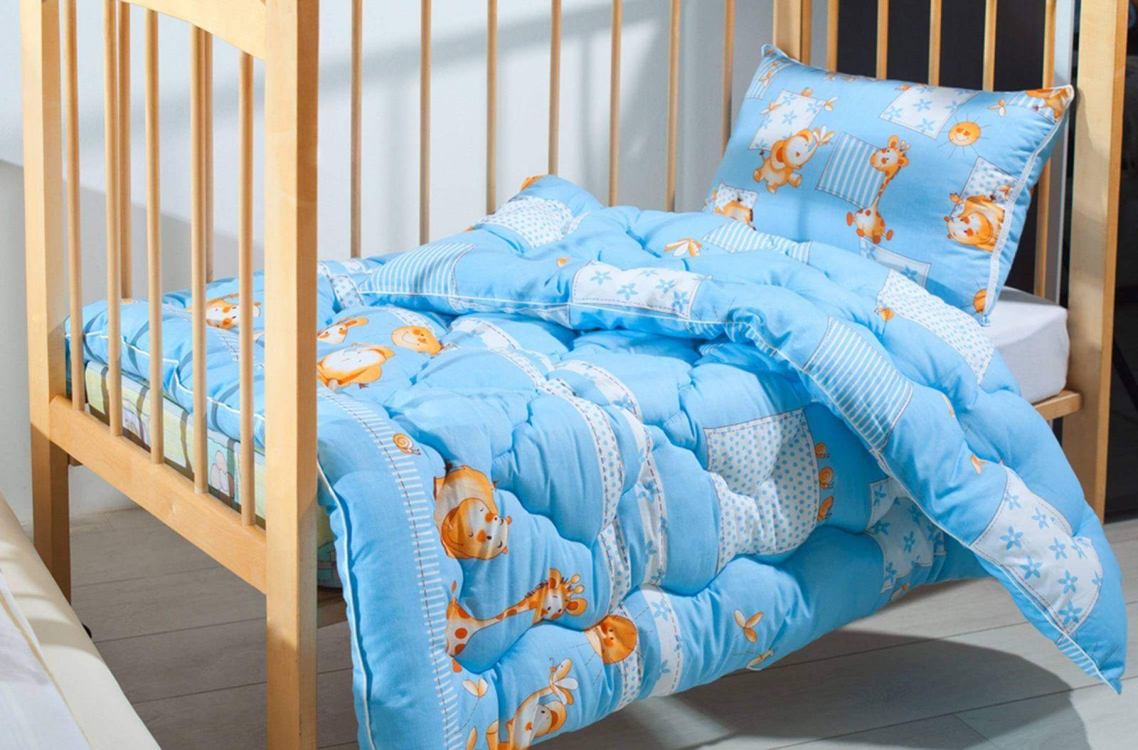 Одеяло детское стеганное