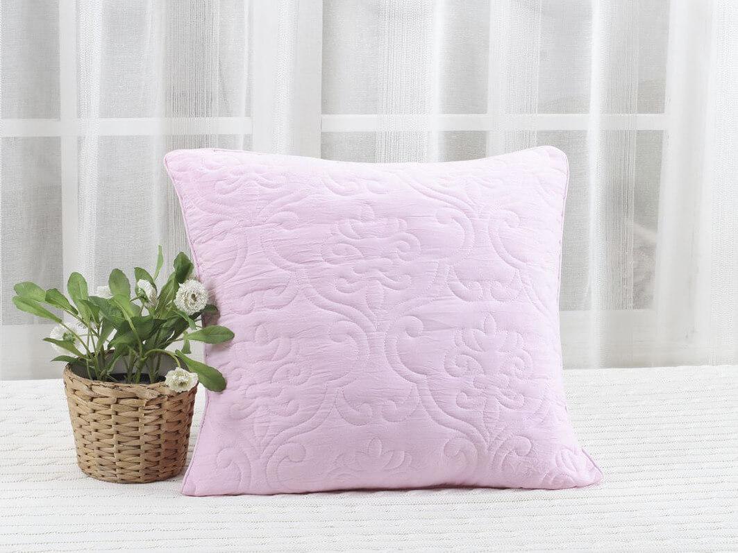 Стеганная декоративная подушка