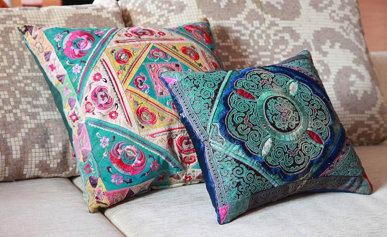 Турецкая подушка декоративная