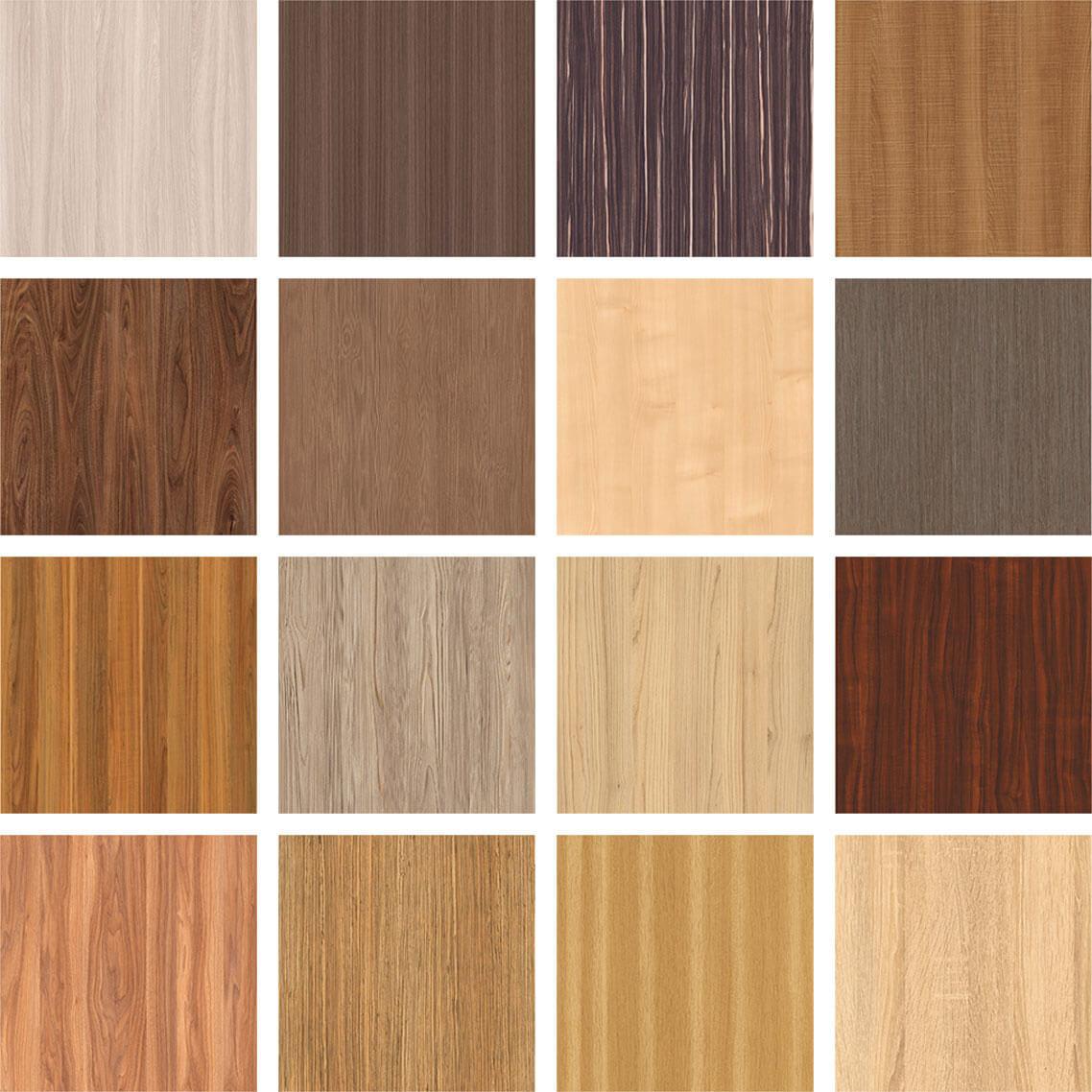Образцы древесно-стружечных плит для изготовления шкафов-купе