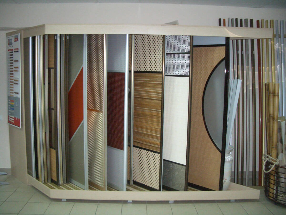Материалы для дверей шкафов-купе
