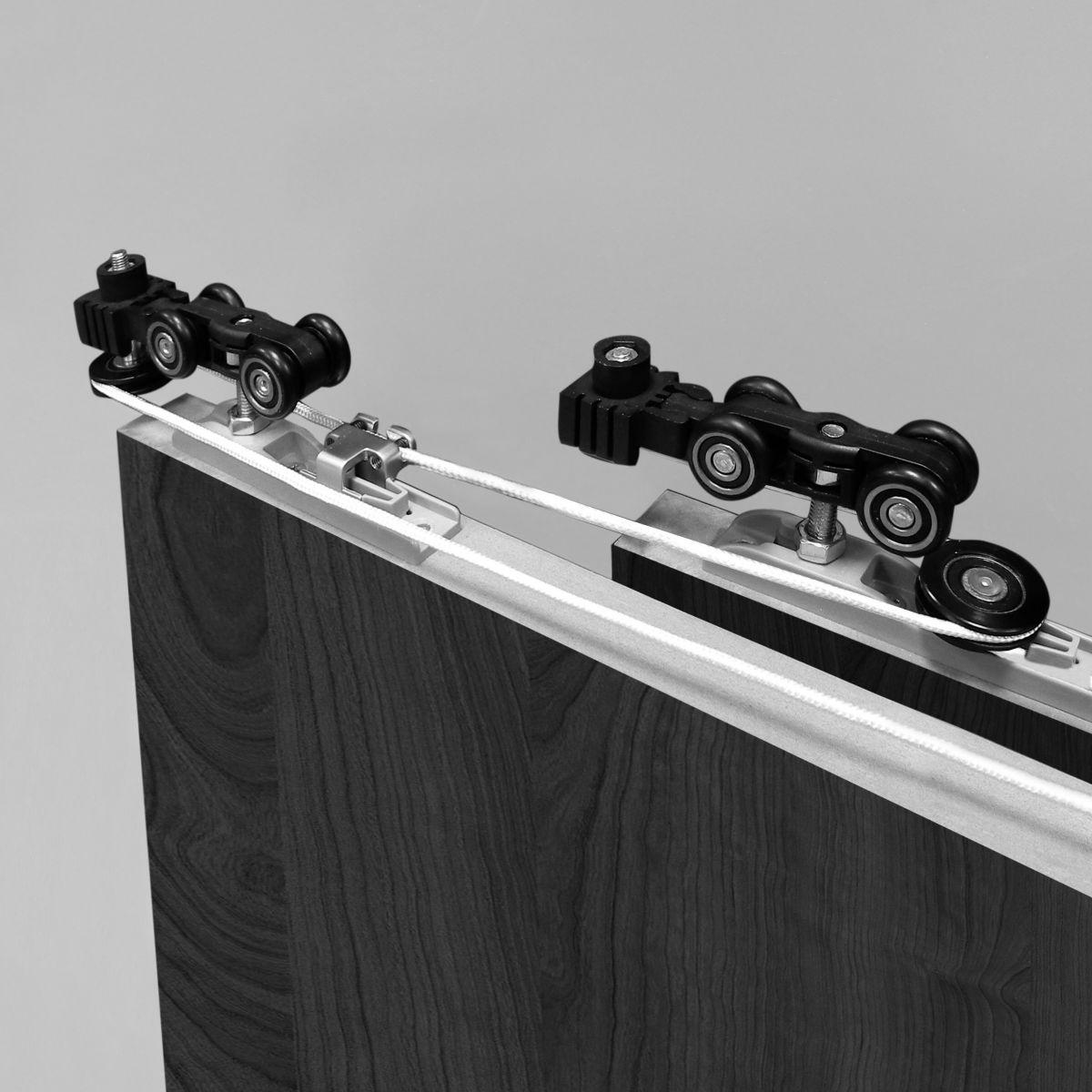 Телескопическая система для шкафов-купе