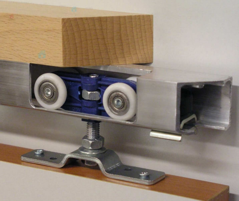 Колесики ходовой системы шкафов-купе
