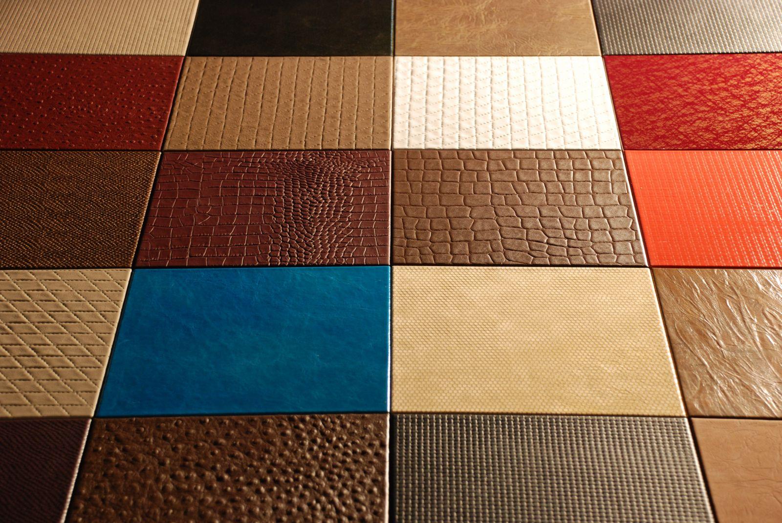 Производители кожаного напольного покрытия имеют различные виды плиток на любой вкус и цвет!