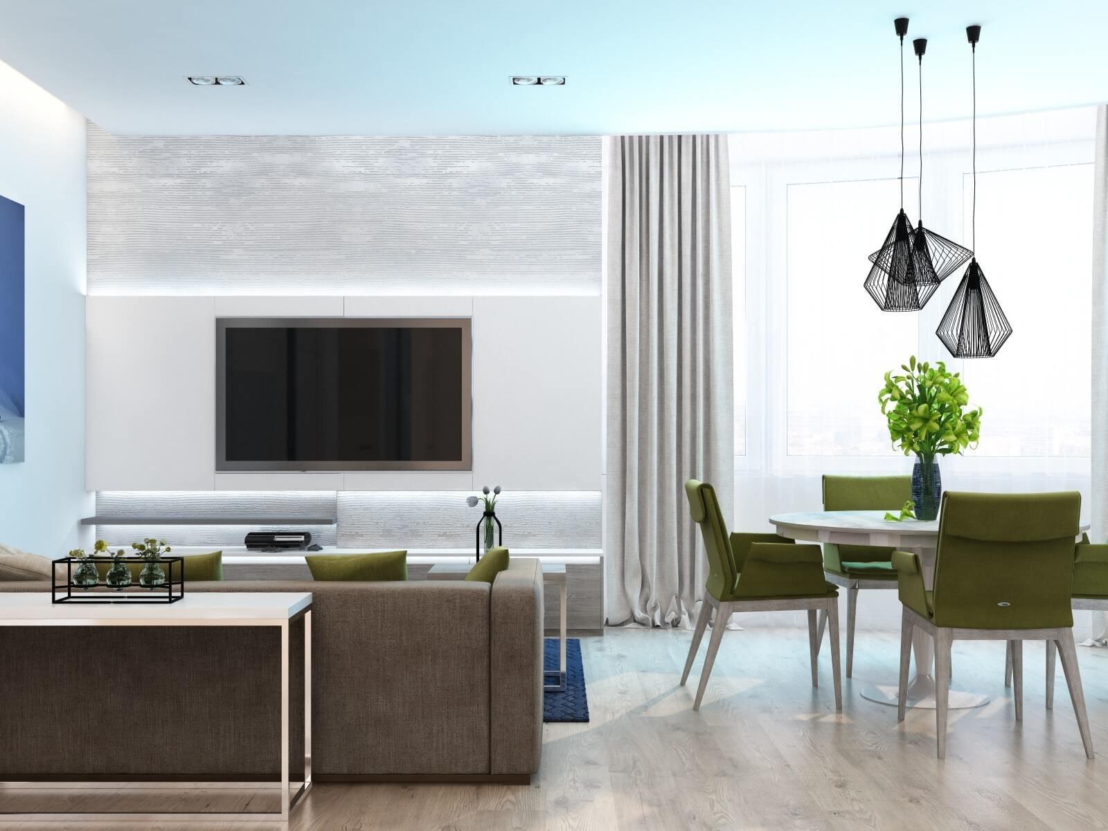 Серые оттенки ламината для минималистичного интерьера является приоритетным цветом