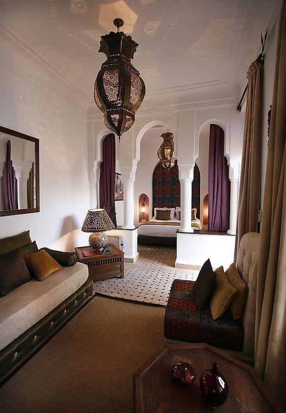 Марокканский стиль способен пленить взор и сердце каждого гостя, входящего в Ваш дом.