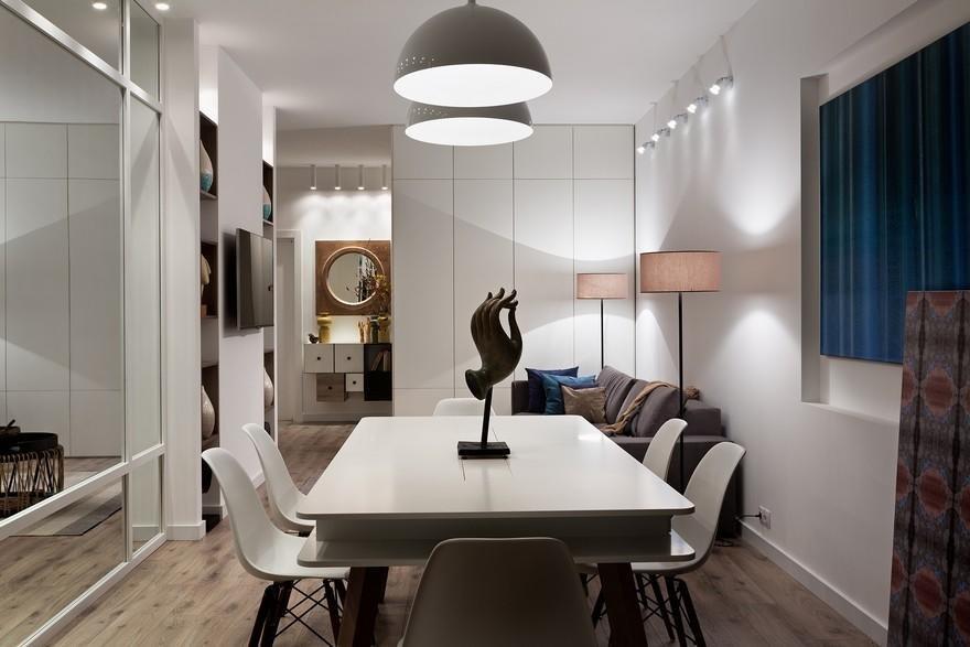 Большой и функциональный стол –любимое место встречи гостей