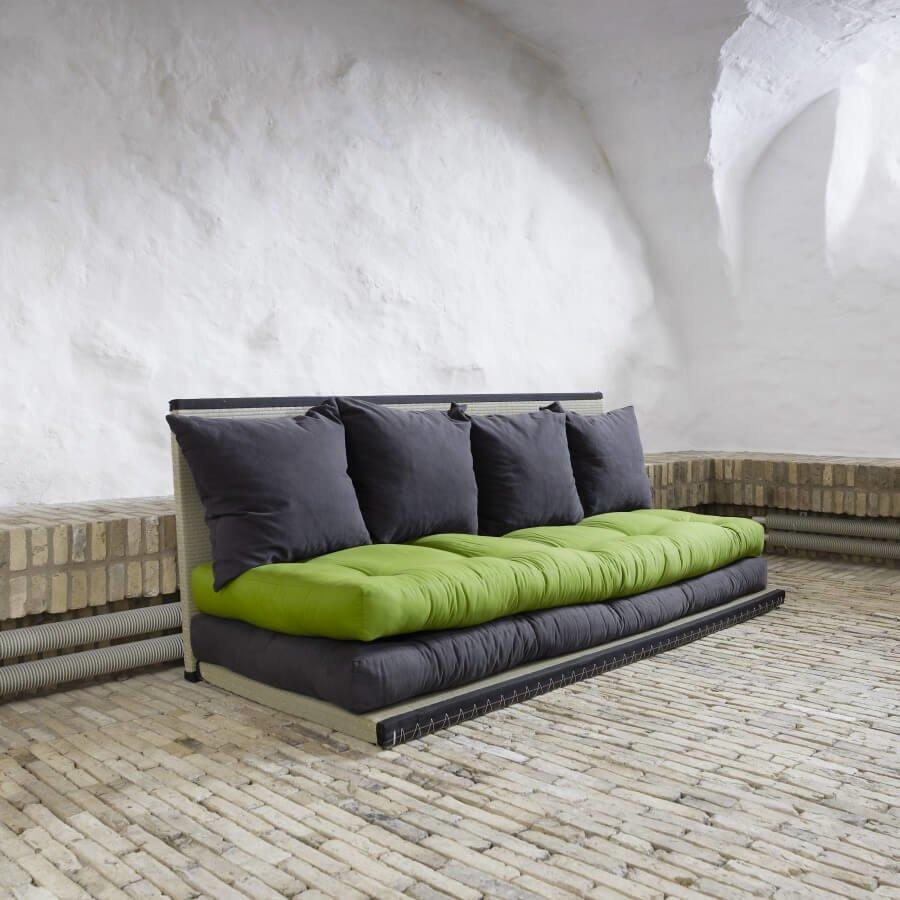 Диван-футон станет любимым местом для отдыха Ваших друзей.