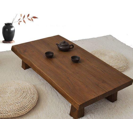 Столы для чайной церемонии в современной интерпретации, выполняют роль преемственности поколений и связи с предками.