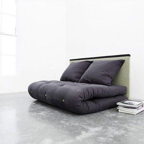 Футон - отличная альтернатива классической кровати. Очень практично