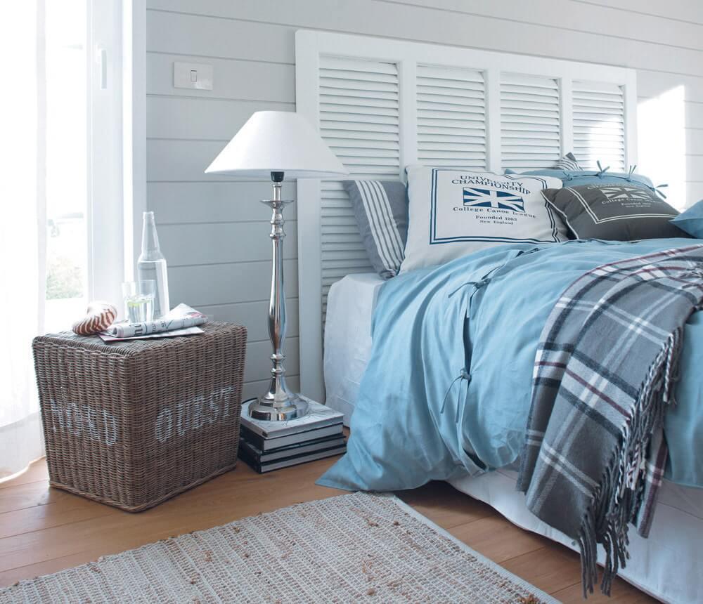 Плетеная корзина может быть не только предметом декора, но и уникальной экологичной мебелью