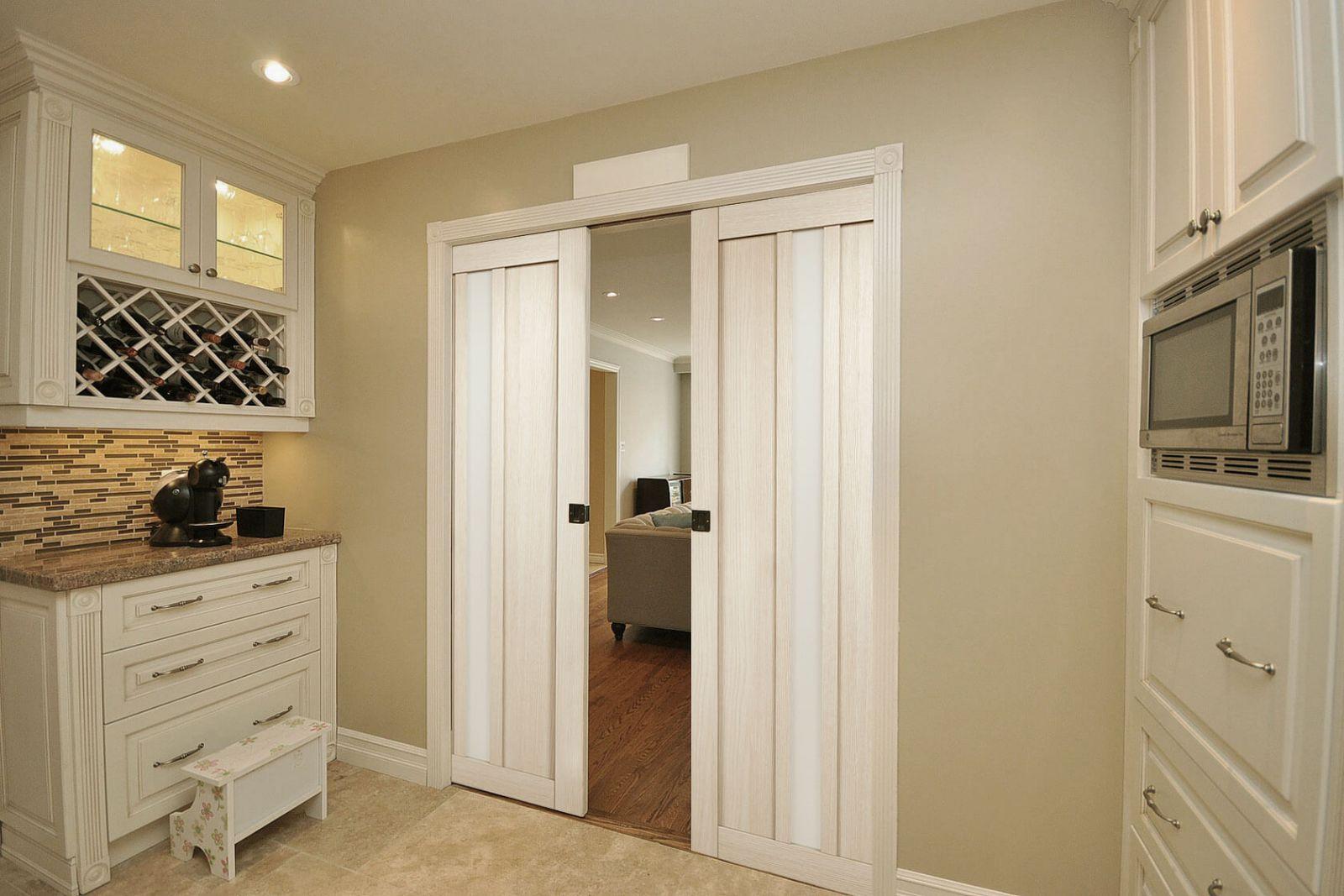 Функциональные раздвижные межкомнатные двери.